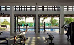 long-beach-mauritius-gym